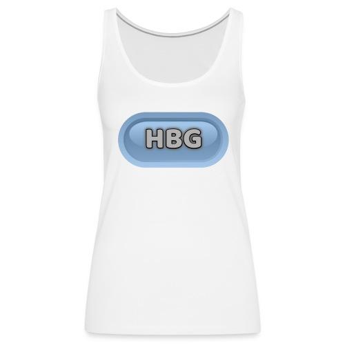 HBG CIRCLE DESIGN - Women's Premium Tank Top