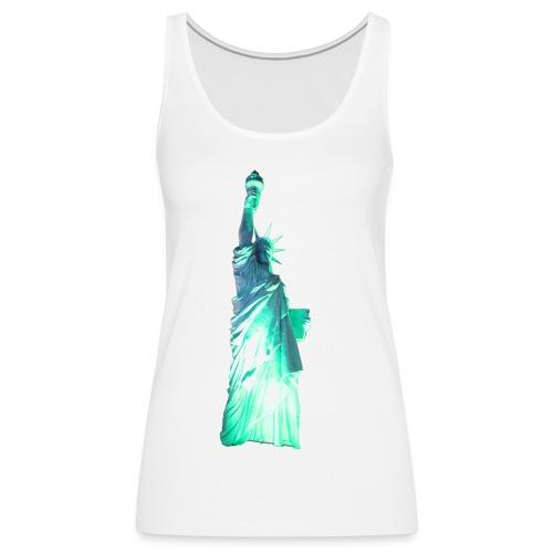 Statue of Liberty - Women's Premium Tank Top