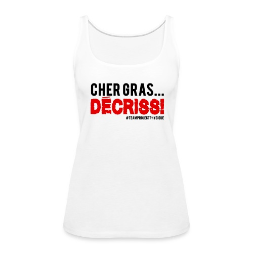 Design Decriss - Women's Premium Tank Top