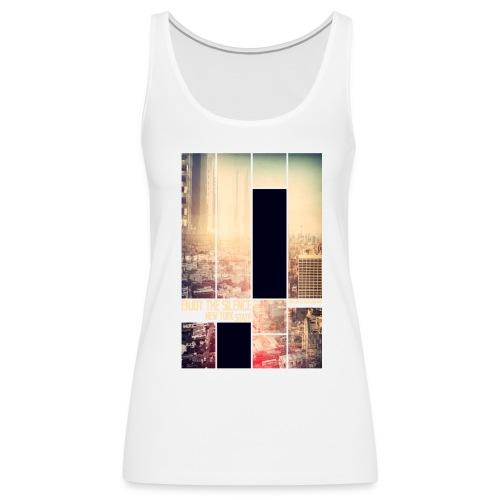 Enjoy the silence New York T-shirt - Women's Premium Tank Top