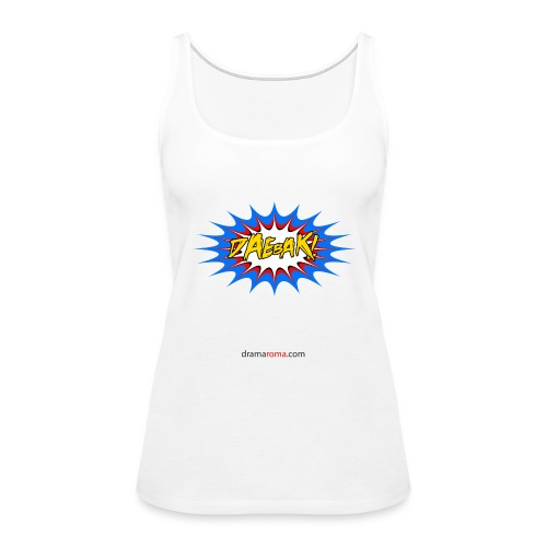 Daebak design from Dramaroma.com - Women's Premium Tank Top