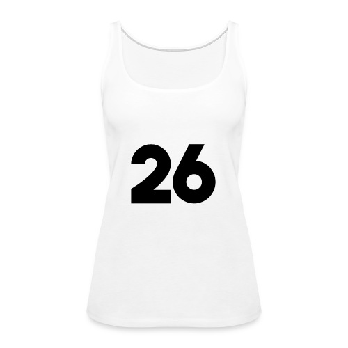 Main 26 logo - Women's Premium Tank Top