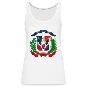 Dominican shield - Women's Premium Tank Top