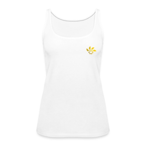 abstract rising sun - Women's Premium Tank Top
