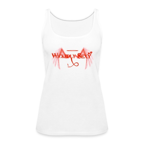Wickedly Sexy Red - Women's Premium Tank Top
