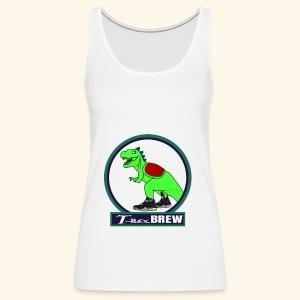 T-Rex BEER - Women's Premium Tank Top