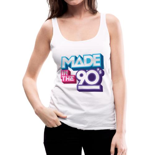 Made in the 90s - Women's Premium Tank Top