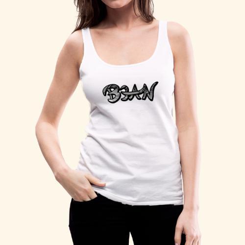 B3AN B&W - Women's Premium Tank Top