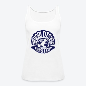 The World Is Your Oyster - Dark - Women's Premium Tank Top
