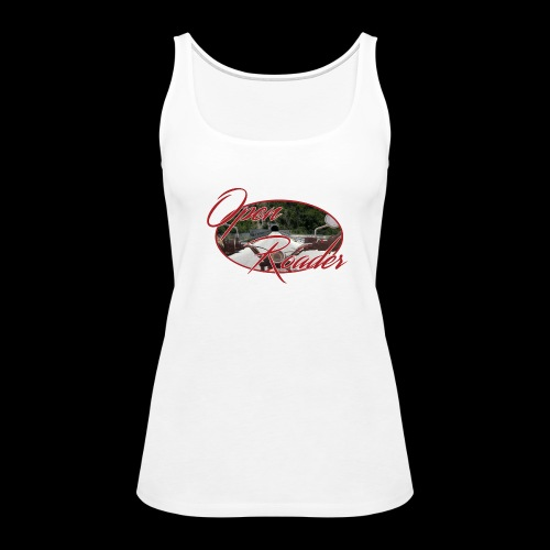 Open Roader Tunnel on back - Women's Premium Tank Top