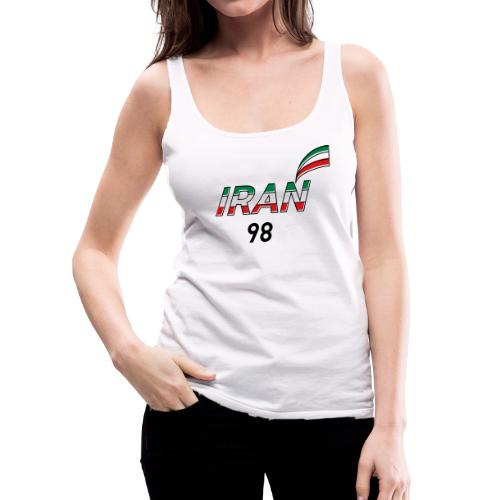 Iran's France 98 20th Anniversary Tee - Women's Premium Tank Top