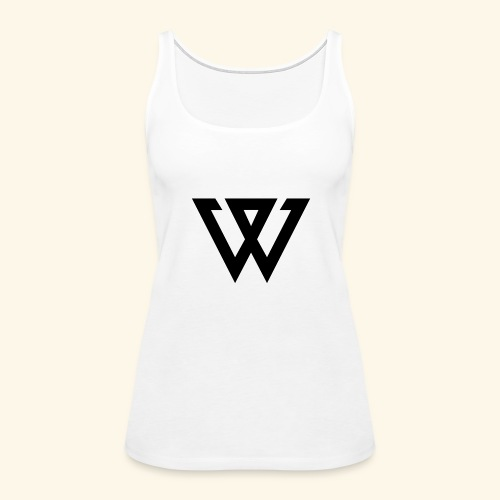 WINNER LOGO - Women's Premium Tank Top