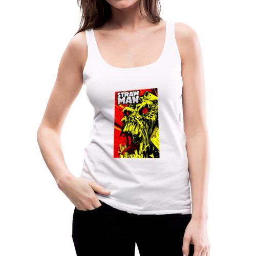 Strawman Silent Scream! - Women's Premium Tank Top