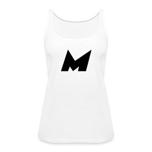 Official Black Mystic Logo (M Letter Logo) - Women's Premium Tank Top