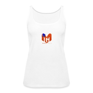MaddenGamers MG Logo - Women's Premium Tank Top