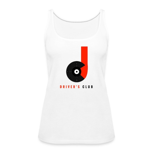 Drivers Club Logo - Women's Premium Tank Top