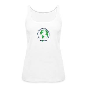TEARTH FIRST BACK SIDE - Women's Premium Tank Top