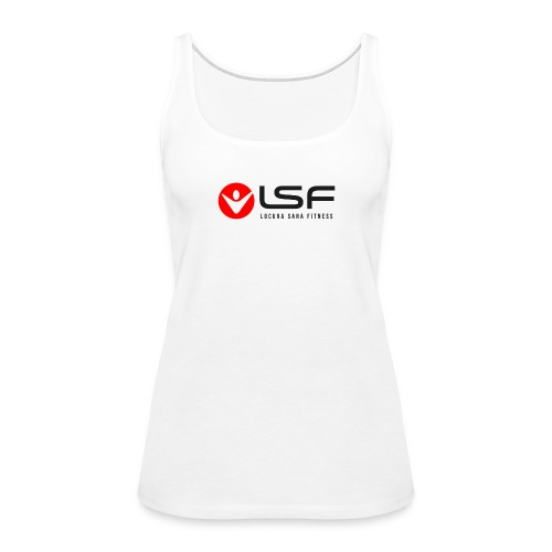 LSF Logo Black - Women's Premium Tank Top