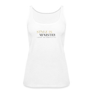 Style is Ministry Logo Apparel - Women's Premium Tank Top