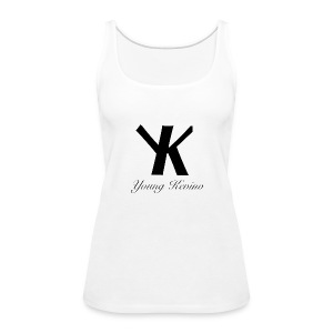 Young Kevino Official Logo (Black) - Women's Premium Tank Top