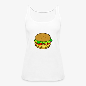 Comic Burger - Women's Premium Tank Top