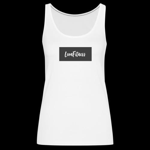 LeonFitness Box Logo - Women's Premium Tank Top