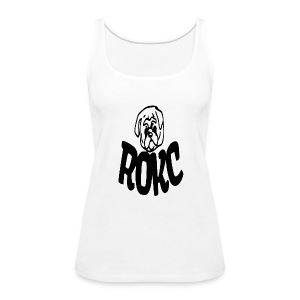 ROKC ALTERNATE LOGO - Women's Premium Tank Top