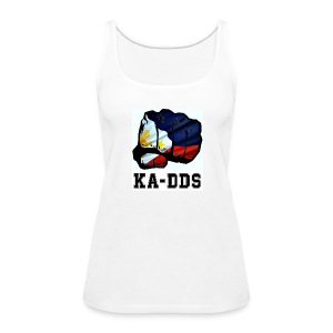 Duterte Fist of the DDS - Women's Premium Tank Top