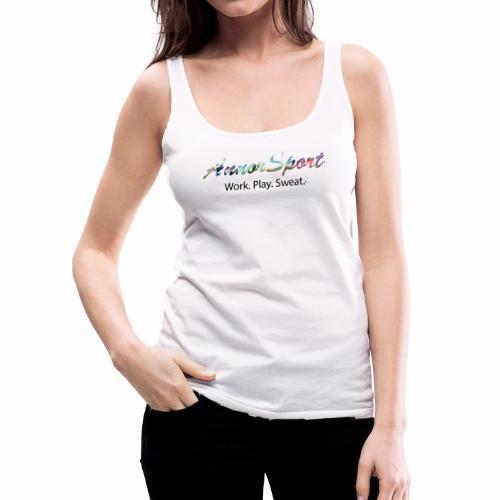 Annor Sport. Work. Play. Sweat. - Women's Premium Tank Top