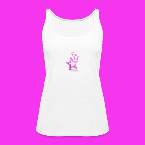 pink star - Women's Premium Tank Top
