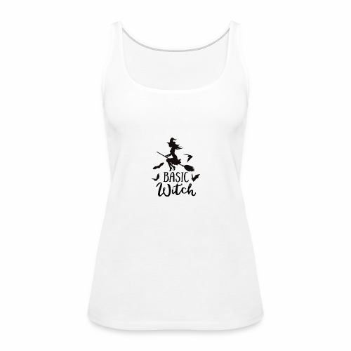 Basic Witch Gym Tank - Women's Premium Tank Top
