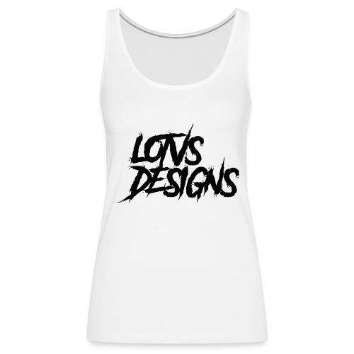 LOTVS DESIGNS - Black - Women's Premium Tank Top
