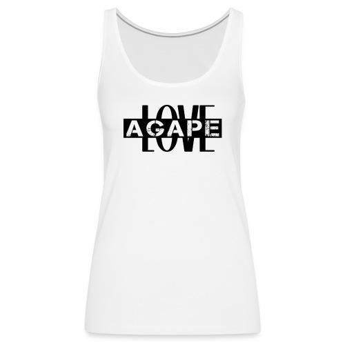 Agape LOVE - Women's Premium Tank Top