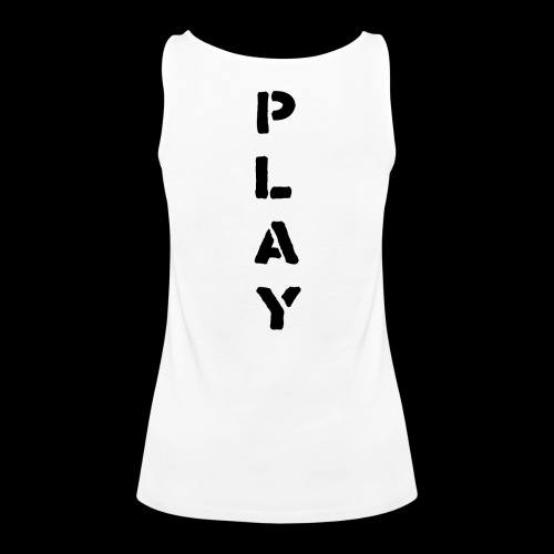 Back Play - Women's Premium Tank Top