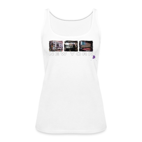 New York Times Square 1 - Women's Premium Tank Top