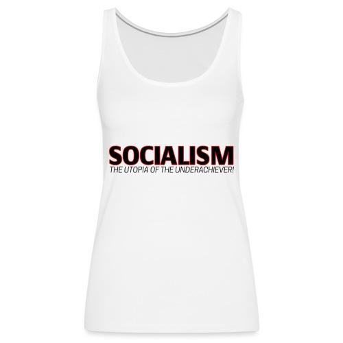 SOCIALISM UTOPIA - Women's Premium Tank Top