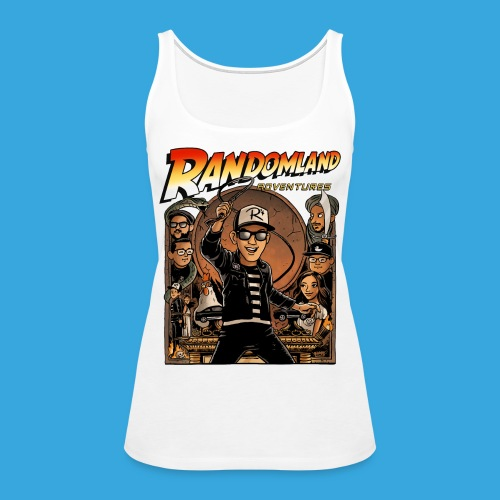 RANDOMLAND ADVENTURER - Women's Premium Tank Top