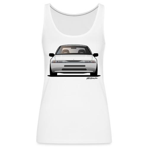 Subaru Alcyone SVX Modern JDM Icon Sticker - Women's Premium Tank Top