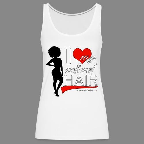 Love Natural Hair (Afro) - Women's Premium Tank Top