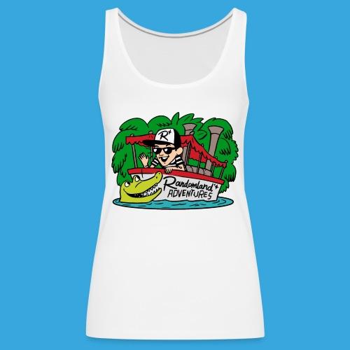 Justin of the Jungle Boat - Women's Premium Tank Top