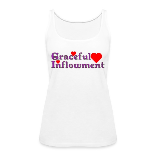 Graceful Inflowment - Women's Premium Tank Top