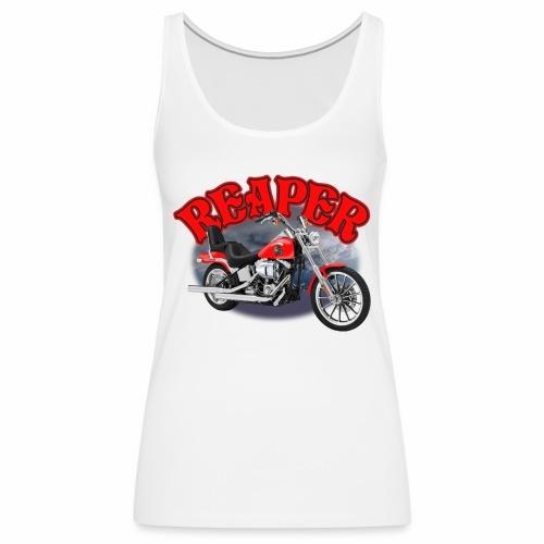 Motorcycle Reaper - Women's Premium Tank Top