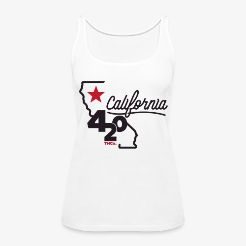 California 420 - Women's Premium Tank Top