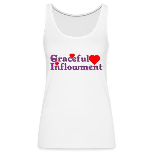 Graceful Inflowment - Women's Premium Tank Top