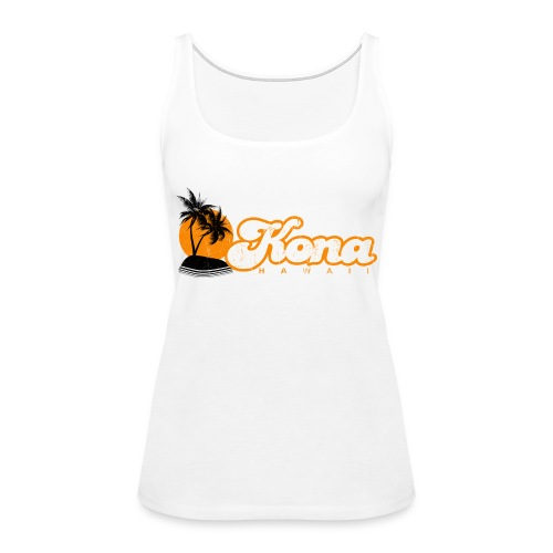 Kona Hawaii - Women's Premium Tank Top