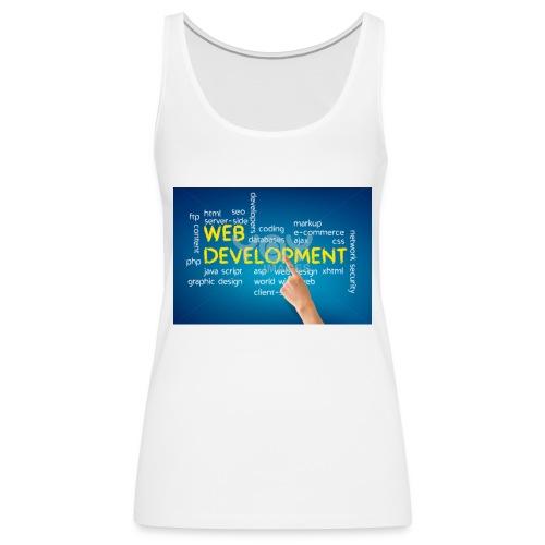 web development design - Women's Premium Tank Top