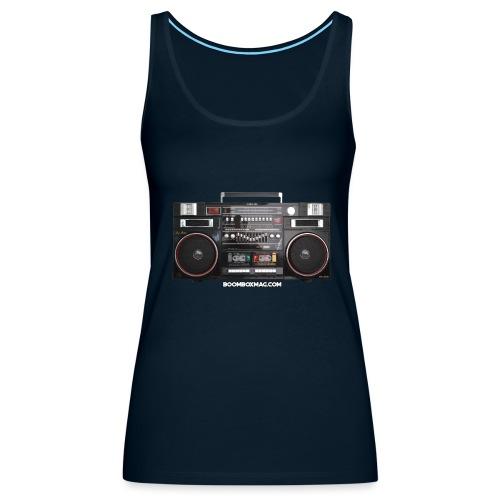 Helix HX 4700 Boombox Magazine T-Shirt - Women's Premium Tank Top