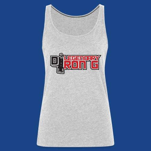 Ron G logo - Women's Premium Tank Top