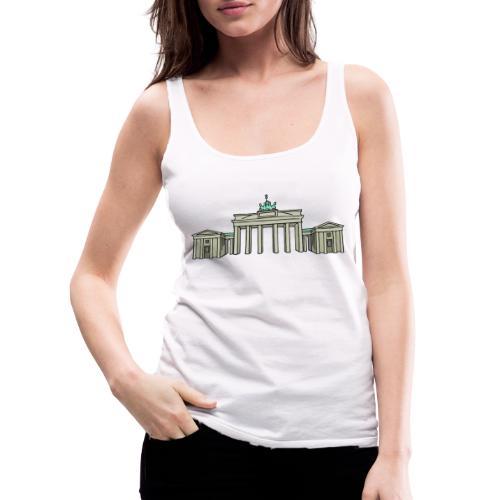 Brandenburg Gate Berlin - Women's Premium Tank Top