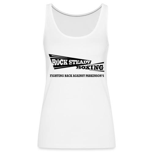 I Am Rock Steady T shirt - Women's Premium Tank Top